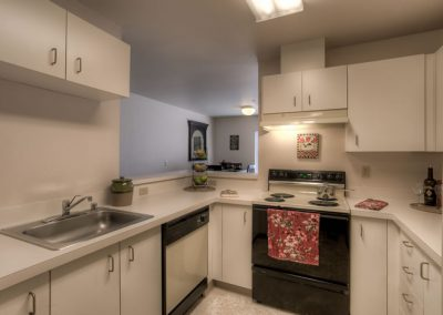 Every apartment has a full-size kitchen with plenty of storage space - enjoy cooking, entertaining, baking, and more.